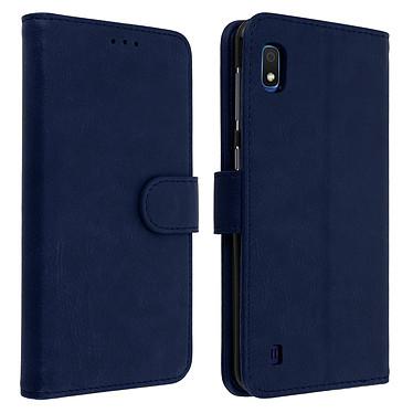Avizar Etui folio Bleu Nuit pour Samsung Galaxy A10 Etui folio Bleu Nuit Samsung Galaxy A10