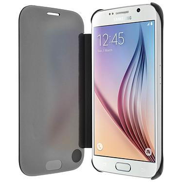 Avizar Etui folio Noir pour Samsung Galaxy S6 pas cher