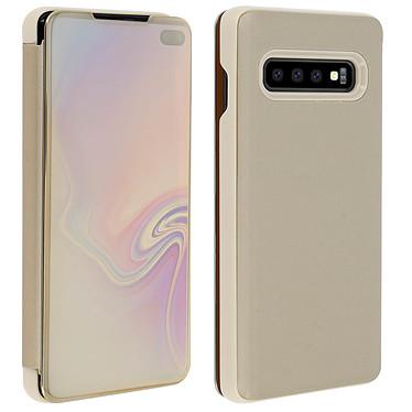 Acheter Avizar Etui folio Dorée Design Miroir pour Samsung Galaxy S10 Plus
