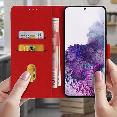 Acheter Avizar Etui folio Rouge pour Samsung Galaxy S20 Ultra