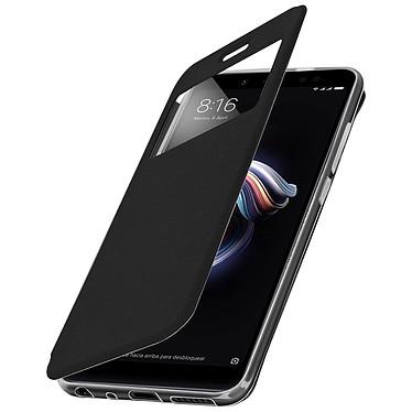 Avizar Etui folio Noir pour Xiaomi Redmi Note 5 pas cher