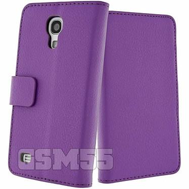 Avis Avizar Etui folio Violet pour Samsung Galaxy S4 Mini