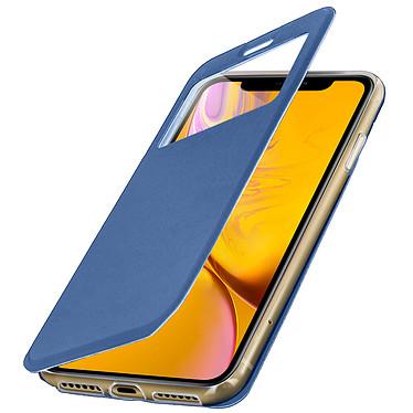 Avizar Etui folio Bleu pour Apple iPhone XR pas cher