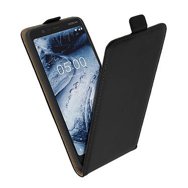 Avizar Etui à clapet Noir pour Nokia 5.1 pas cher