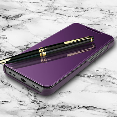 Avizar Etui folio Violet pour Xiaomi Redmi Note 6 Pro pas cher