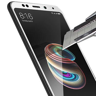 Avis Avizar Film verre trempé Blanc pour Xiaomi Redmi 5 Plus