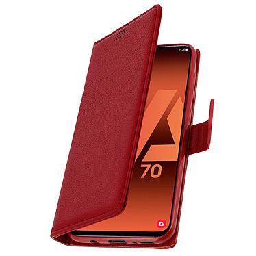 Avizar Etui folio Rouge pour Samsung Galaxy A70 pas cher