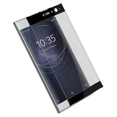 Avis Avizar Film verre trempé Noir pour Sony Xperia XA2