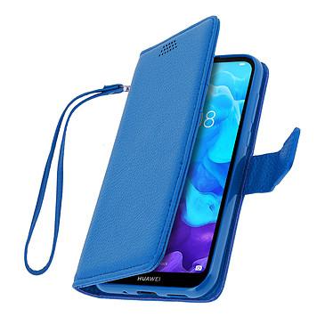 Avizar Etui folio Bleu pour Huawei Y5 2019 , Honor 8S pas cher