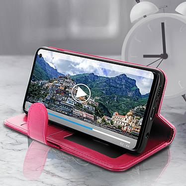 Avis Avizar Etui folio Rose Éco-cuir pour Samsung Galaxy S10