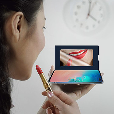 Acheter Avizar Etui folio Bleu Nuit pour Samsung Galaxy S10 Plus