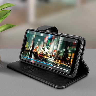 Avis Avizar Etui folio Noir Portefeuille pour Xiaomi Redmi Note 6 Pro