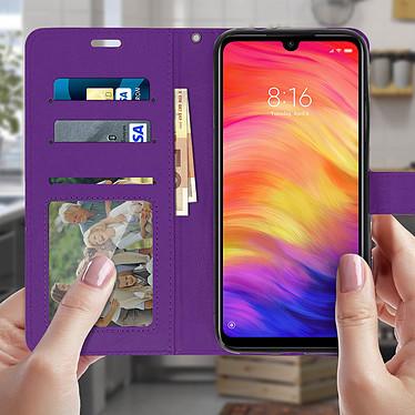 Acheter Avizar Etui folio Violet pour Xiaomi Redmi Note 7