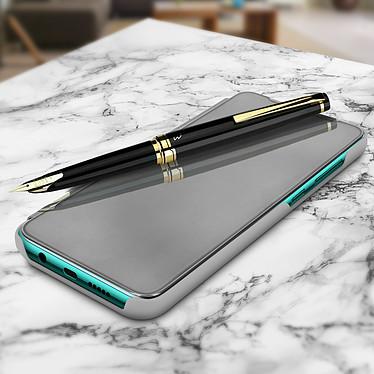 Avizar Etui folio Argent pour Xiaomi Redmi Note 8 Pro pas cher
