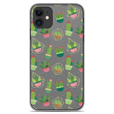 1001 Coques Coque silicone gel Apple iPhone 11 motif Cactus Coque silicone gel Apple iPhone 11 motif Cactus