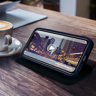 Avis Avizar Etui folio Bleu Nuit Éco-cuir pour Apple iPhone 11