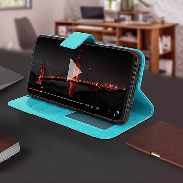 Avis Avizar Etui folio Turquoise pour Samsung Galaxy M20