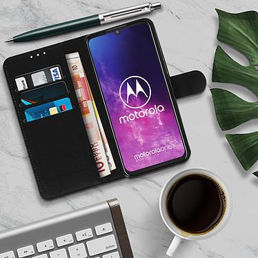 Acheter Avizar Etui folio Noir pour Motorola One Pro , Motorola One Zoom