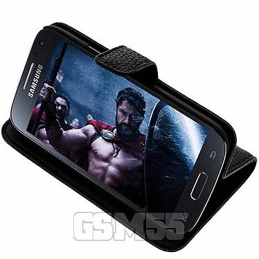 Acheter Avizar Etui folio Noir pour Samsung Galaxy S4 Mini