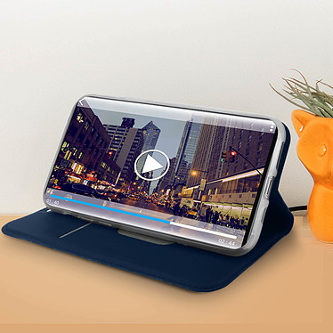 Acheter Avizar Etui folio Bleu Nuit Éco-cuir pour Apple iPhone 11 Pro
