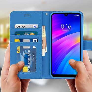 Acheter Avizar Etui folio Bleu pour Xiaomi Redmi 7