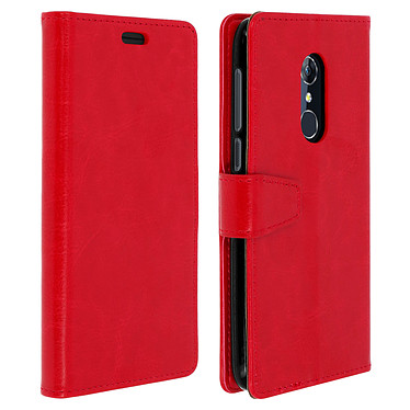 Avizar Etui folio Rouge pour Alcatel 3 , Orange Dive 73 Etui folio Rouge Alcatel 3 , Orange Dive 73