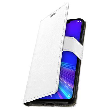 Avizar Etui folio Blanc pour Asus ZenFone Max M2 ZB633KL pas cher