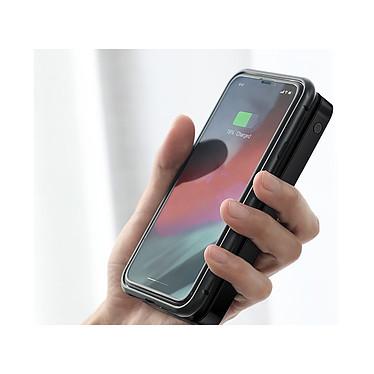 Acheter Baseus Batterie externe Chargeur sans fil Qi 10000 mAh Double USB Baseus Noir