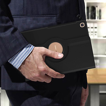 Avis Avizar Etui folio Noir pour Samsung Galaxy Tab S5e