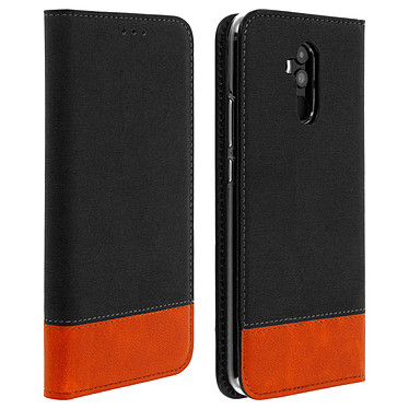 Avizar Etui folio Noir pour Huawei Mate 20 lite Etui folio Noir Huawei Mate 20 lite