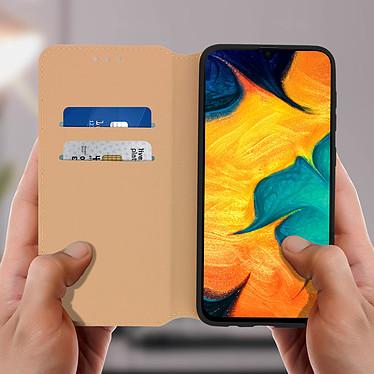 Acheter Avizar Etui folio Dorée pour Samsung Galaxy A30