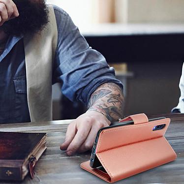 Acheter Avizar Etui folio Rose pour Samsung Galaxy A70