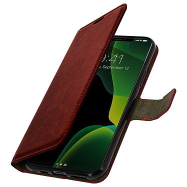 Avizar Etui folio Marron pour Apple iPhone 11 Pro pas cher