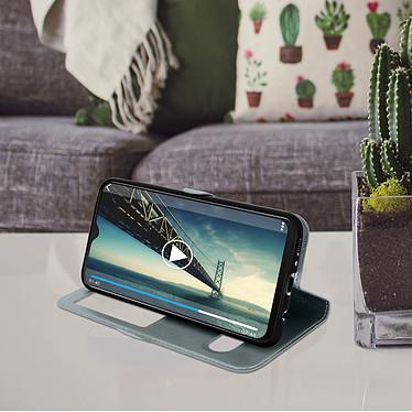 Avis Avizar Etui folio Argent pour Samsung Galaxy M20