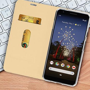 Acheter Avizar Etui folio Dorée pour Google Pixel 3A XL