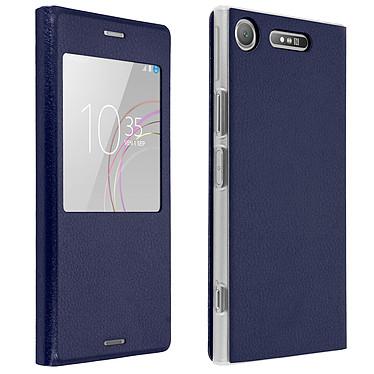 Avizar Etui folio Bleu Nuit pour Sony Xperia XZ1 pas cher