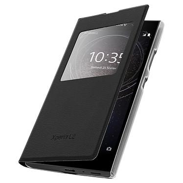 Avizar Etui folio Noir pour Sony Xperia L2 pas cher