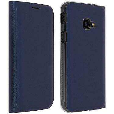 Avizar Etui folio Bleu Nuit pour Samsung Galaxy Xcover 4 , Samsung Galaxy Xcover 4s pas cher