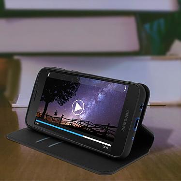 Avis Avizar Etui folio Noir pour Samsung Galaxy A2 Core