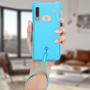 Acheter Avizar Coque Bleu pour Samsung Galaxy A7 2018