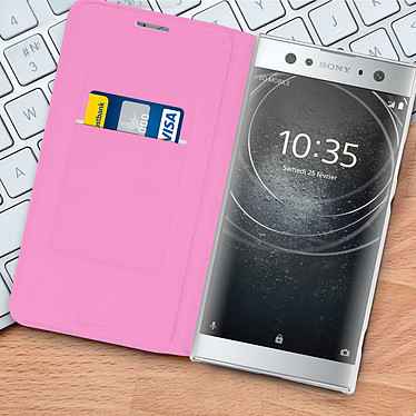 Acheter Avizar Etui folio Rose pour Sony Xperia XA2 Ultra