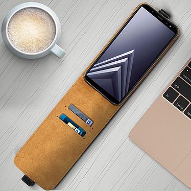 Acheter Avizar Etui à clapet Noir pour Samsung Galaxy A6