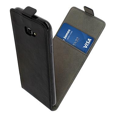 Avizar Etui à clapet Noir pour Samsung Galaxy J4 Plus pas cher