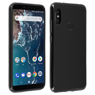 Avizar Coque Noir pour Xiaomi Mi A2 Lite Coque Noir Xiaomi Mi A2 Lite