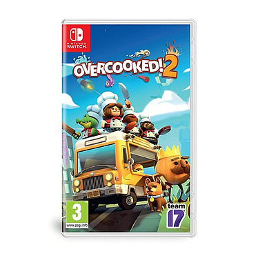 Overcooked 2 (SWITCH) Jeu SWITCH Action-Aventure 3 ans et plus