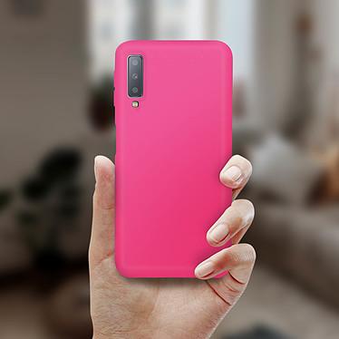Avis Avizar Coque Fuchsia pour Samsung Galaxy A7 2018