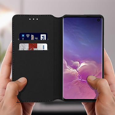 Acheter Avizar Etui folio Noir Éco-cuir pour Samsung Galaxy S10