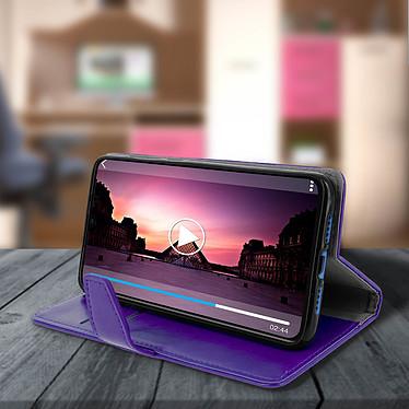 Avis Avizar Etui folio Violet Éco-cuir pour Xiaomi Mi 9