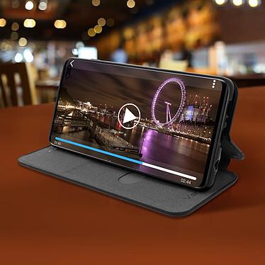 Avis Avizar Etui folio Noir Stand Vidéo pour Samsung Galaxy S10 Plus