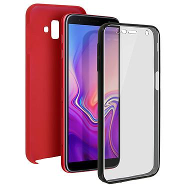 Avizar Coque Rouge pour Samsung Galaxy J6 Plus Coque Rouge Samsung Galaxy J6 Plus